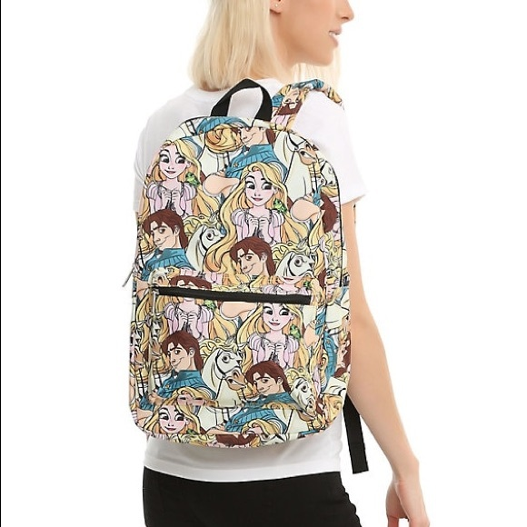 Loungefly Bags Disney Tangled Rapunzel Flynn Backpack Poshmark